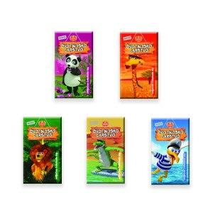 Životinjsko carstvo, mliječna čokolada 15g, Kraš