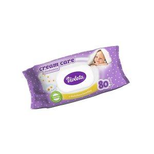 Baby vlažne maramice Cream Care s kamilicom 80 kom
