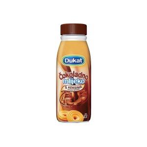 Čokoladno mlijeko s keksima i okusom karamele 0,5L, Dukat