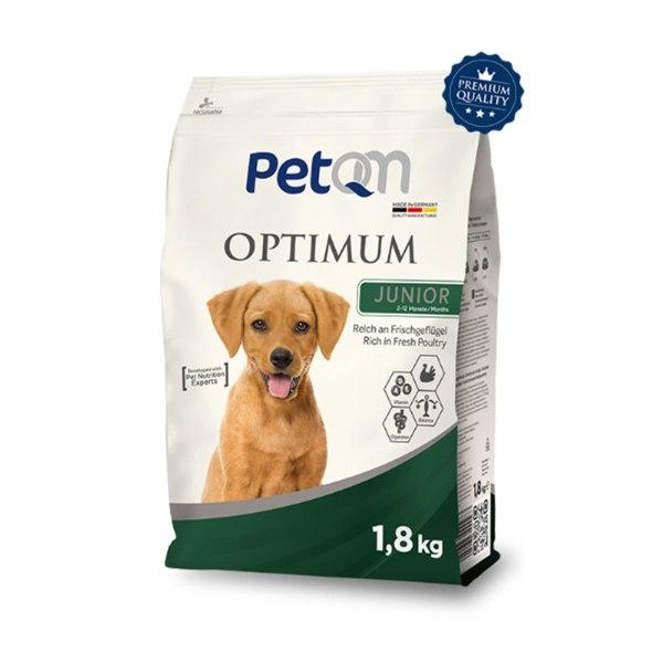 Dog - PetQM Optimum Junior bogato svježom peradi 1,8kg