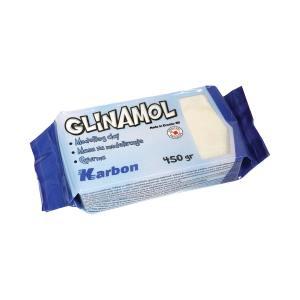 Glinamol bijeli Karbon 450g