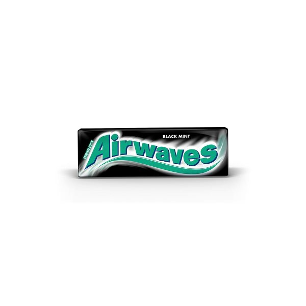 Airwaves black mint žvakaće gume 14 g, Wrigley