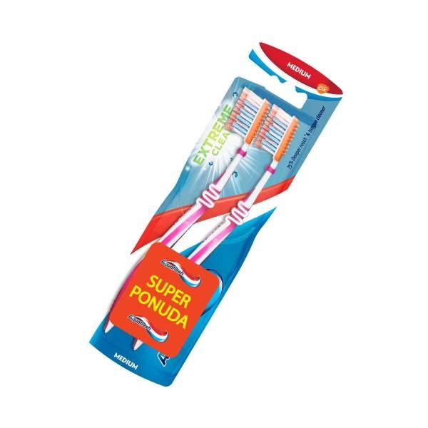 Aquafresh Extreme Clean Medium četkice za zube 2/1