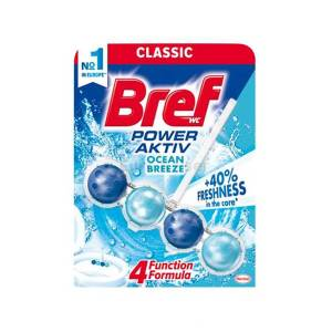 Bref WC Power Aktiv ocean breeze 50g
