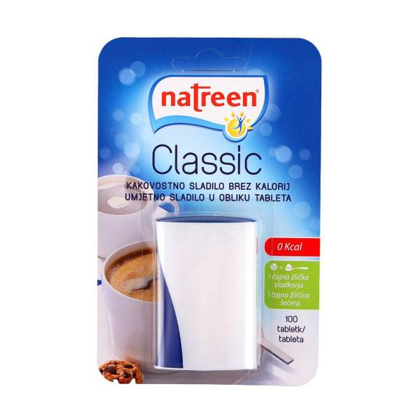 Natreen classic sladilo 100 tableta 6,4g