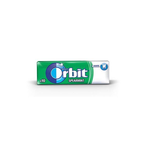 Orbit spearmint dražeje 14g, Wrigley