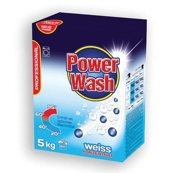 Power wash professional weiss, deterdžent za pranje rublja 5kg, Zalchem