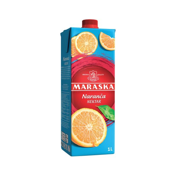 Sok naranča nektar 1L, Maraska