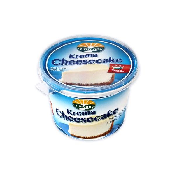 Krema Cheesecake 'zbregov 500g, Vindija