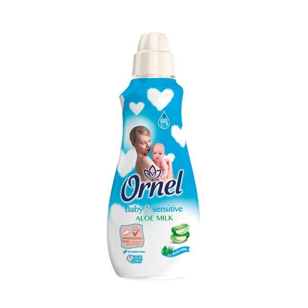 Ornel omekšivač Baby&Sensitive Aloa Milk 900mL