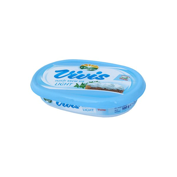 Vivis svježi krem sir light 100g, Vindija
