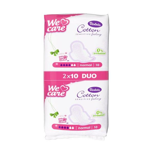 Cotton sensitive hig. ulošci normal duo 20/1, Violeta