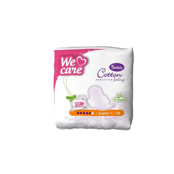 Cotton sensitive hig. ulošci super+ 10/1, Violeta