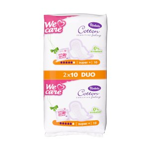 Cotton sensitive hig. ulošci super+ duo 20/1, Violeta
