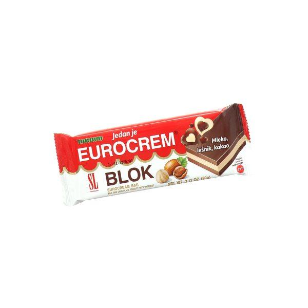 Eurocrem blok 90g