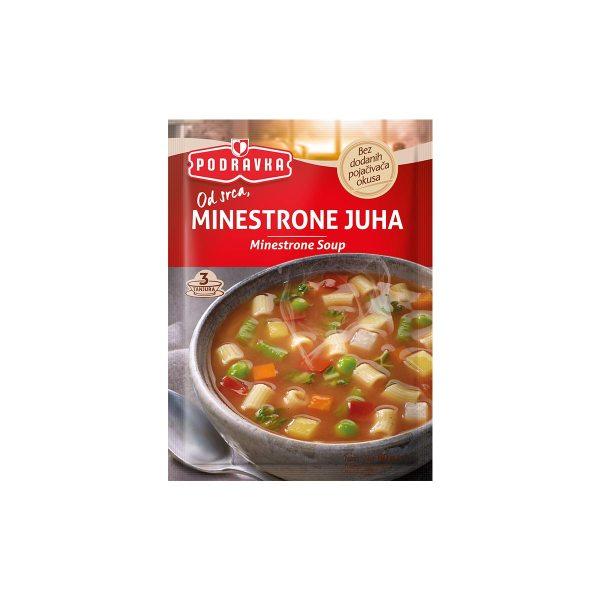 Minestrone juha 60g, Podravka