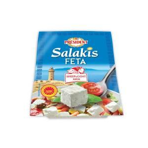 President Salakis ovčji+kozji feta sir 200g, Dukat