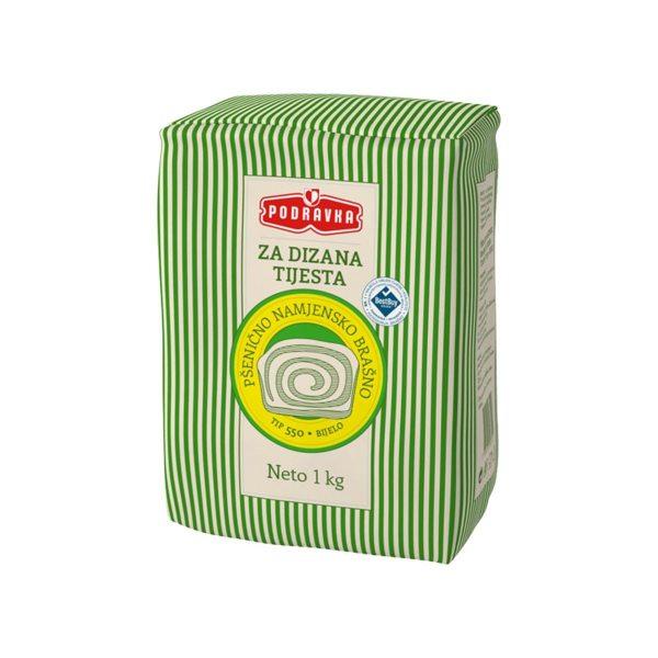 Pšenično namj. brašno za dizana tijesta TIP 550 bijelo 1kg