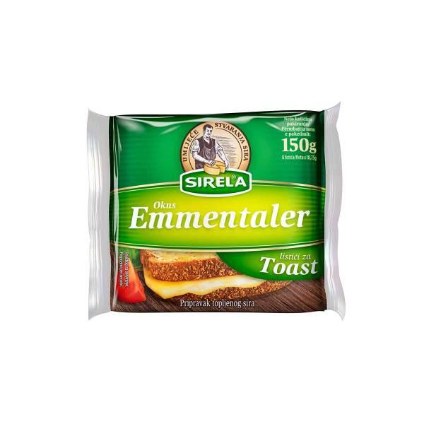 Sirela Toast listići okus Emmentaler 150g, Dukat