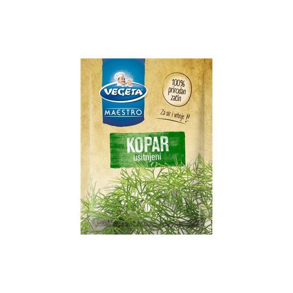Vegeta Maestro Kopar usitnjeni 10g, Podravka
