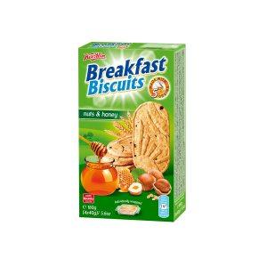 Breakfast biscuits - Nuts & Honey 160g, Koestlin