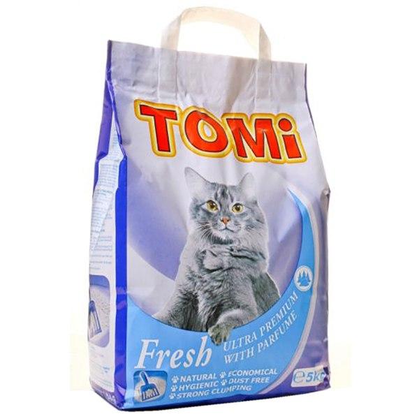 Tomi Fresh Ultra premium pijesak za mačke i glodavce 5kg