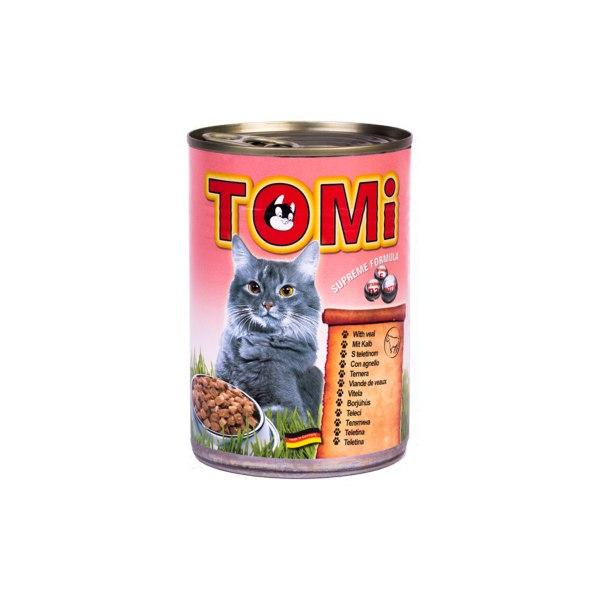Tomi konzerva za mačke teletina 400g