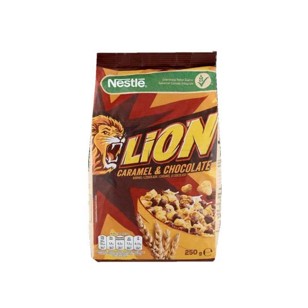 Lion žitne pahuljice caramel&chocolate 250g, Nestlé