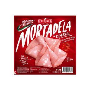 Mortadela classic 80g, Podravka