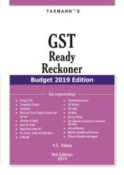 Buy GST Ready Reckoner