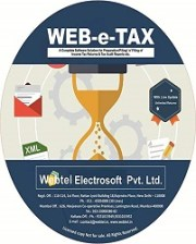 Buy Webtel ETax Returns Software for F.Y. 2018-19 at 10% Discount