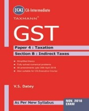 GST (CA-Intermediate) by V.S Datey