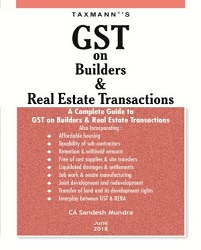 GST on Builders & Real Estate Transactions