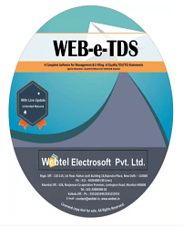 Buy Webtel's E-TDS Returns Software for F.Y. 2018-19 at 10% Discount