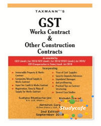 GST Works Contract & Other Construction Contracts