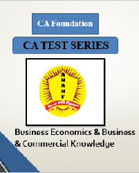 CA Foundation Business Economics & Business & Commercial Knowledge Test Series By Anant Institute