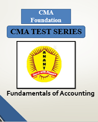 CMA Foundation Fundamentals of AccountingTest Series By Anant Institute