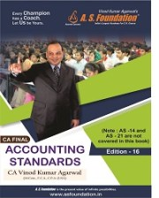 CA FINAL ACCOUNTING STANDARDS BOOK