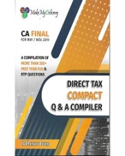 CA FINAL DIRECT TAX COMPACT Q & A COMPLIER BY CA BHANWAR BORANA FOR MAY/NOV. 2019 EXAM