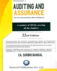 CA Inter Auditing and Assurance for New Syllabus By Surbhi Bansal Applicable for May 2019 Exam