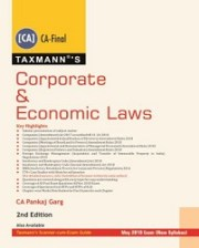 CA Final Corporate and Economic Laws New Syllabus By Pankaj Garg