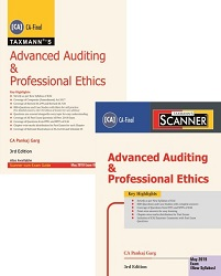 CA Final Combo Advanced Auditing and Professional Ethics Main Book & Scanner New Syllabus By Pankaj Garg