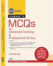CA Final Advanced Auditing & Professional Ethics Multiple Choice Questions Old and New Syllabus By Pankaj Garg
