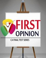 CA FINAL - GROUP 1 Old Syllabus COMBO (4 Subjects) Test Series by First Opinion