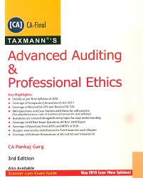 CA Final Advanced Auditing & Professional Ethics New Syllabus By Pankaj Garg