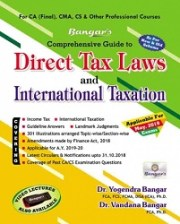 CA Final Direct Tax Laws and International Taxation (Old & New Syllabus) By Dr. Vandana Bangar & Dr. Yogendra Bangar