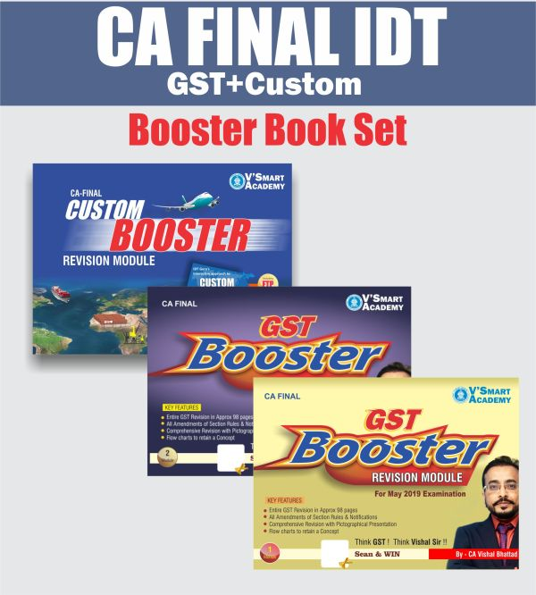 CA FINAL IDT BOOSTER BOOK SET BY CA VISHAL BHATTAD