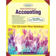ACCOUNTING BY CA G.SEKAR & CA B.SARAVANA PRASATH (NEW SYLLABUS) CA-INTER