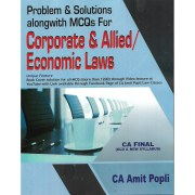 CA FINAL CORPORATE & ALLIED/ECONOMICS LAWS BY AMIT POPLI (OLD & NEW SYLLABUS)