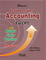 CA CPT Fundamentals of ACCOUNTING with Multiple Choice Questions K.K. Agrawal